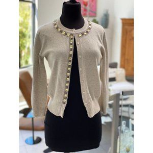 Cashmere Jewel Cardigan
